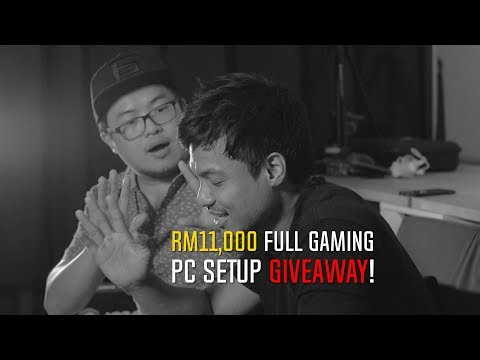MOBHouse RM11,000 Full Gaming PC Setup Giveaway (Closed)