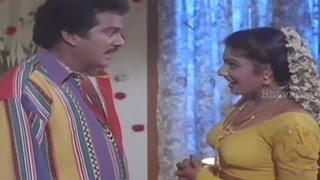Rajendra Prasad And Ravali First Night Scene || Vaddu Bava Thappu Movie Scenes