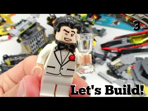 THE LEGO BATMAN MOVIE: Batcave Break-in 70909 - Let's Build! Part 3