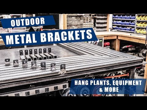 Big Outdoor Metal Brackets | JIMBO'S GARAGE