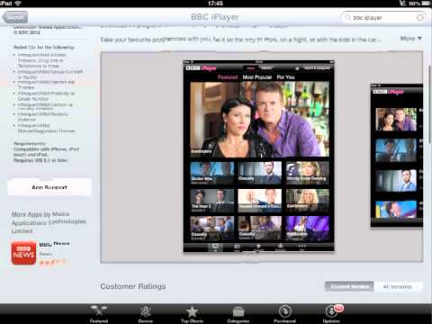 How to set up & Watch TV Abroad on the iPad