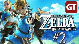 Let's Play Zelda: Breath of the Wild German #2 - The Legend of Zelda Switch Gameplay Deutsch