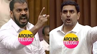 అనిల్ యాదవ్ అరుపులకు భయపడ్డ నారా లోకేష్..Nara Lokesh vs Anil Kumar Yadav..AP Legislative Council