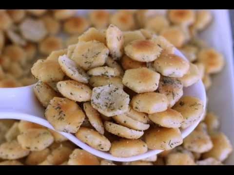 No Bake Ranch Oyster Crackers Recipe