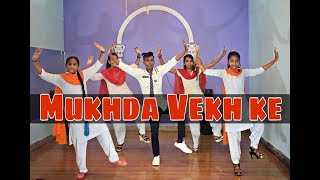 Mukhda Vekh ke | bhangra Dance l De De pyar de, Choreography- Imran Khan