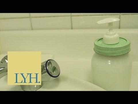 Mason Jar Soap Dispenser | Made At Home S03E5/8