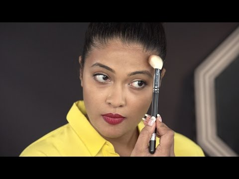 How To Contour Your Forehead For Slimming Your Face