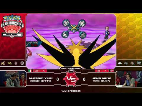 2018 Pokémon Oceania International Championships: VG Masters Finals