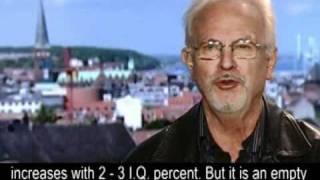 Intelligence expert prof. Helmuth Nyborg: I.Q. down because of mass immigration