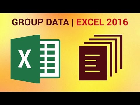 How to Group Data in Pivot Tables in Excel 2016