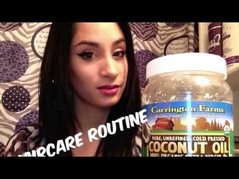 My Hair Care Routine / Coconut Oil Treatment