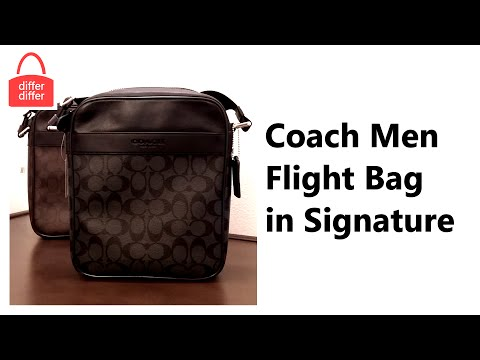 Coach Men Flight Bag in Signature 71764