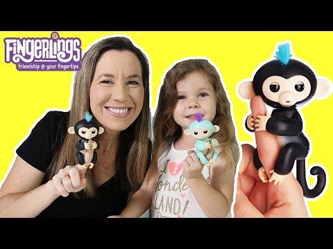 Fingerlings - Playful Baby Monkeys On Your Finger