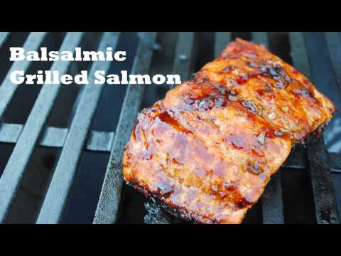 Balsamic Grilled Salmon