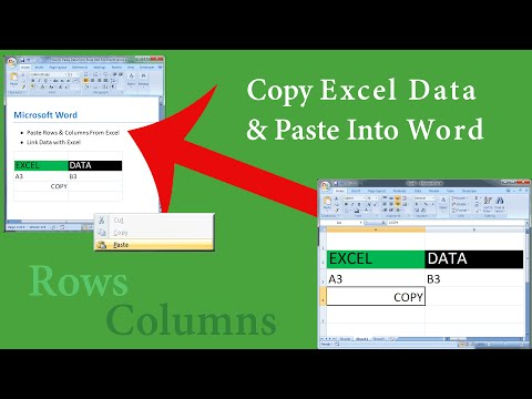 How to Paste Excel Data Into Microsoft Word & Retain, Remove, or Link the Formatting