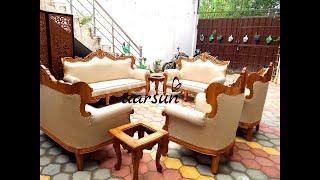 Wondrous Wooden Sofa Videos 9Tube Tv Machost Co Dining Chair Design Ideas Machostcouk