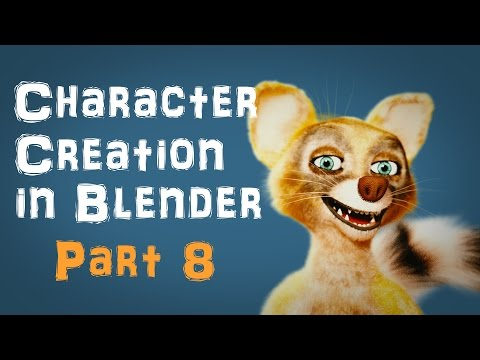 Character Creation in Blender Part 8