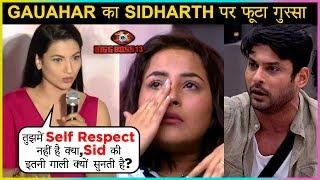 Gauahar Khan SLAMS Siddharth Shukla For ABUSING Shehnaz Gill | Bigg Boss 13