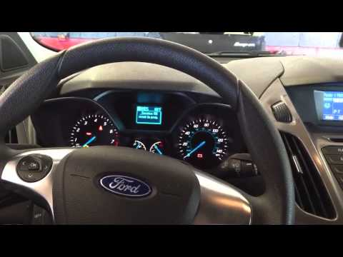 How to reset oil change reminder on 2014 Ford