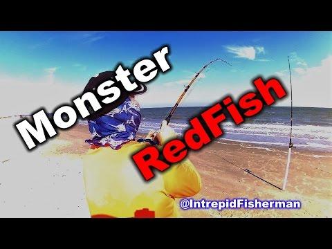 Bull Redfish Texas City Dike fishing - One of my favorite fish to catch