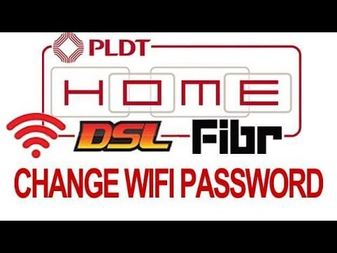 How to Change WIFI Password PLDT DSL Fibr 2018 router using mobile phone #LINTECHph #tagalog