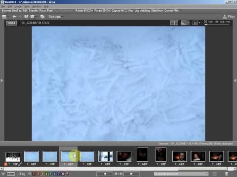 NEF to jpg Convert nikon RAW to JPG file - NIKON VIEW NX 2