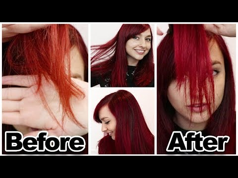 How To Maintain Red Hair | Dying My Hair