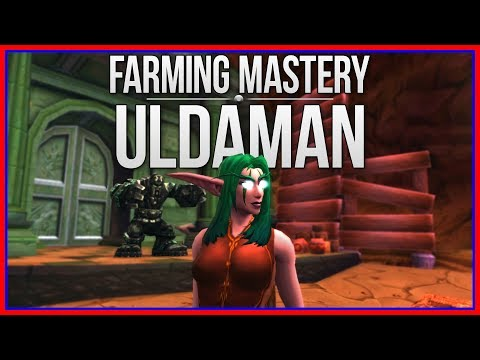 WoW Gold Farming Mastery: Uldaman - 25k to 70k (3 minute route)