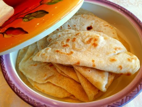 💖 Flour Tortilla Recipe ( How to make homemade tortillas from scratch )