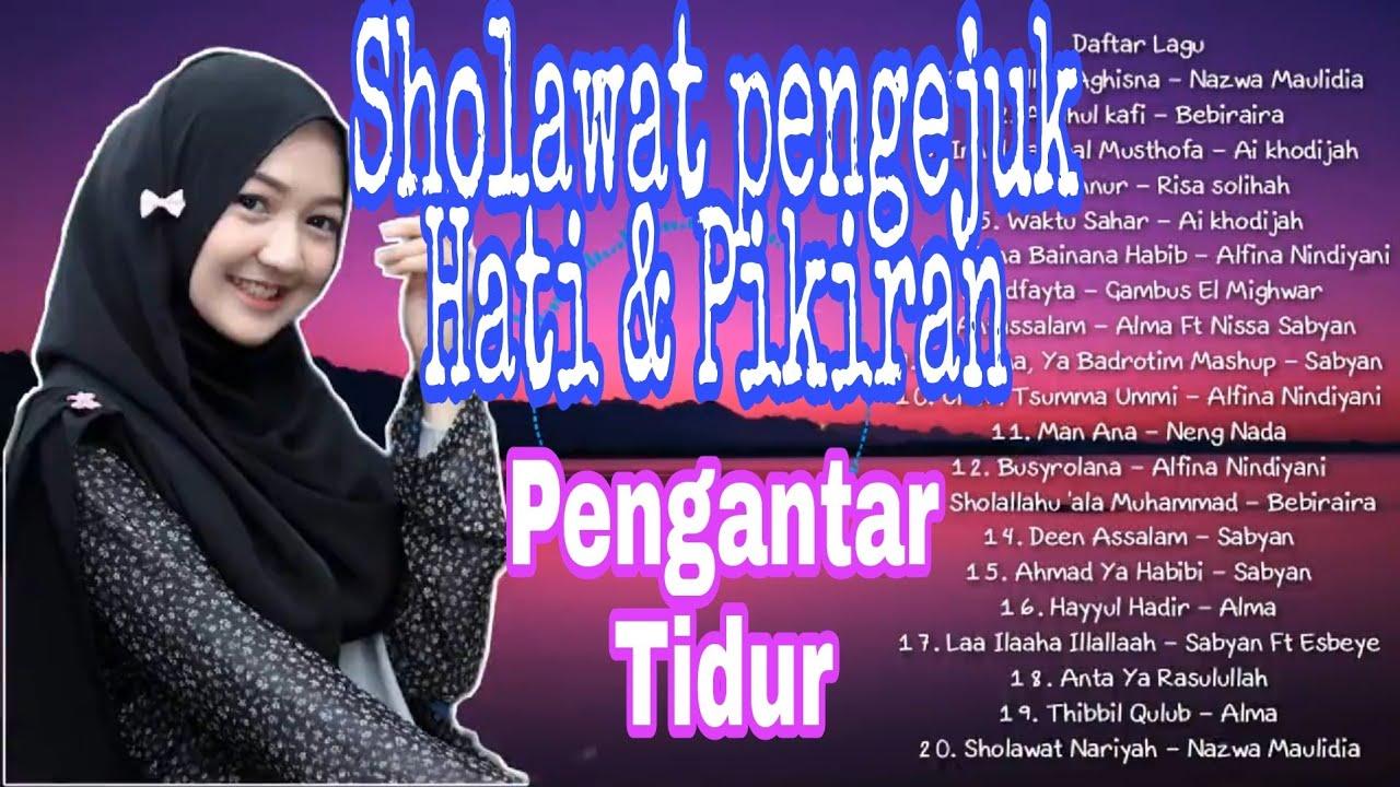 Download SHOLAWAT NABI MERDU PENGANTAR TIDUR LAGU RELIGI ISLAM TERFAVORIT 2020 PLAYLIST 20LAGU MP3 Gratis