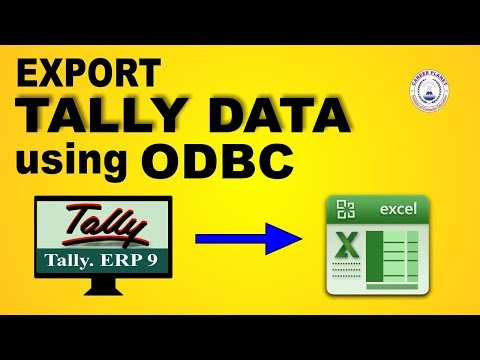 How to Export Data from Tally to Excel using ODBC Connection part- 86|Tally To Excel Export