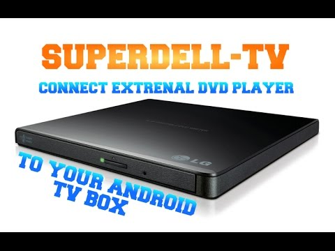 Connect External DVD Player to Android TV Box