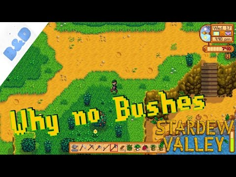Why no Bushes - Stardew Valley (Part 10)