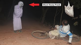Real Scary Reaction Ghost Prank On Public    Try Not To Laugh    Prank Gone Wrong !
