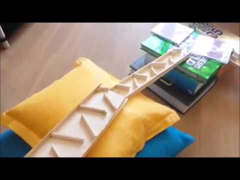 Awesome Homemade Marble Run
