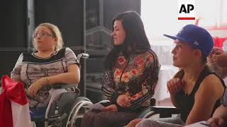Wheelchair users show off their talents at pageant