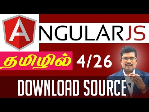 #4 Download Source || AngularJS Foundation in Tamil