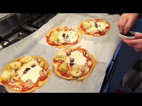 Buckwheat Pancake Pizzas