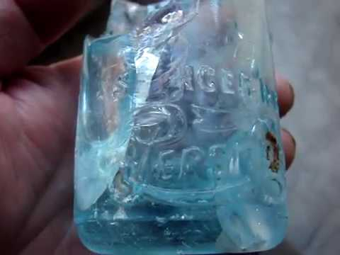 Digging Antique Bottles from Privys in Spencer, N.C. part 2