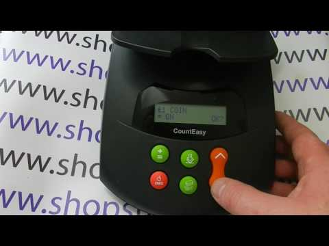 How To Remove The Old £1 Coin From Your Counting Menu On The Volumatic Count Easy