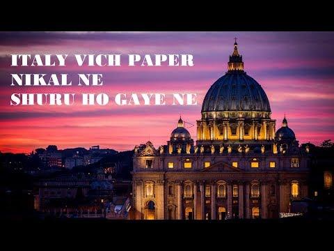 ITALY VICH PAPER NIKAL NE SHURU HO GAYE NE | RARA IMMIGRATION |ITALY