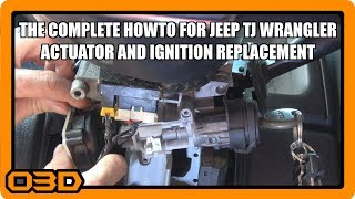 Jeep Ignition Actuator Switch Key Pin Replacement - The right way