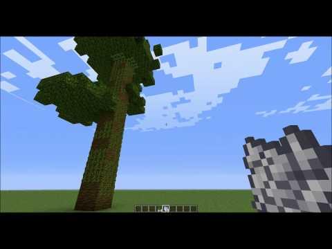 Minecraft v.1.2.3 - How To Make A Really Tall Jungle Tree