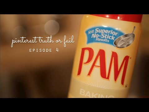 Pinterest Truth or Fail #4: Dry Nails with Pam?