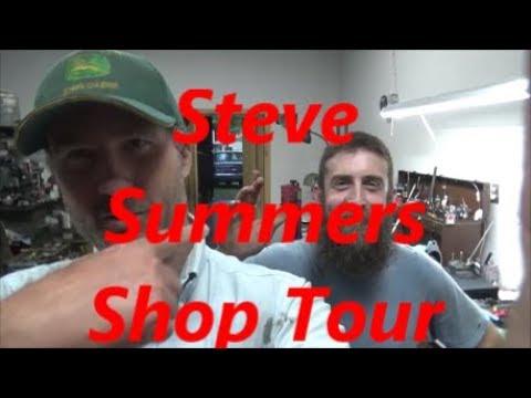 Shop Tour at Steve Summers