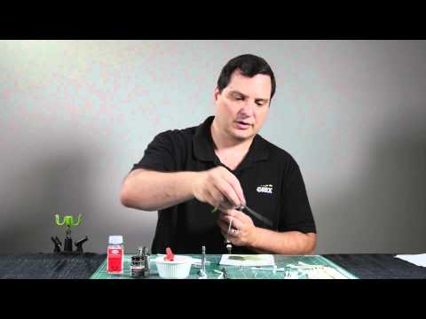 Cleaning your Grex Airbrush - Hobby Paints - Bryant Dunbar