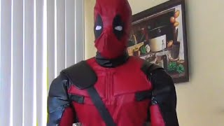 New Deadpool Costume Just Arrived! Parody Videos Comic-Con