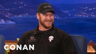 """American Sniper"" Chris Kyle Interview  - CONAN on TBS"