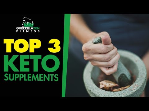 Top 3 Supplements to Enhance Ketogenic / Low Carb Dieting