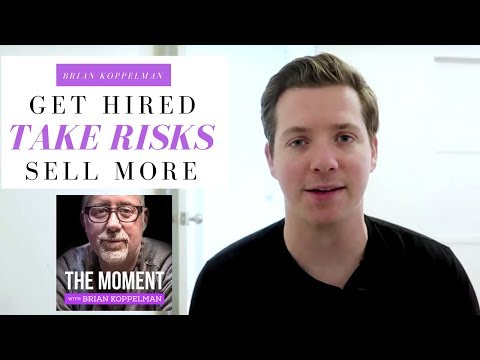 When to Risk Everything - 3 Lessons from Billion's Creator Brian Koppelman's Podcast The Moment